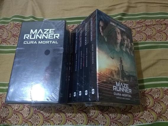 Box Maze Runner - Edição Completa - 5 Livros - Lacrado