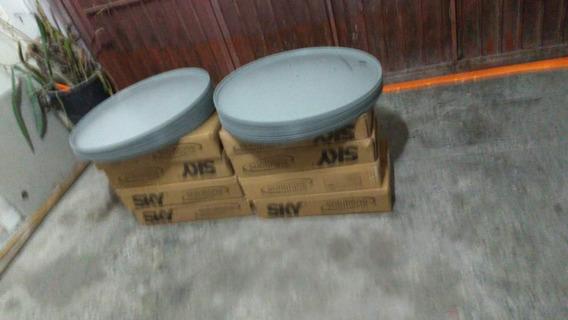Vendo Antena Ku 6 Cm Fechada Lnb Sem Receptor