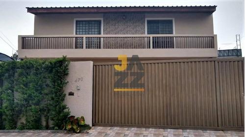 Casa 3 Dormitórios, Suíte No Térreo E Área Gourmet Com Jardim, A 1.100 Metros Da Lagoa Do Taquaral - Ca5246