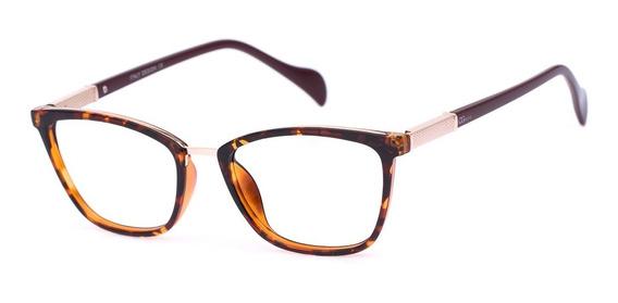 Armação Oculos Ogrife Og 983-c Feminino Com Lente Sem Grau