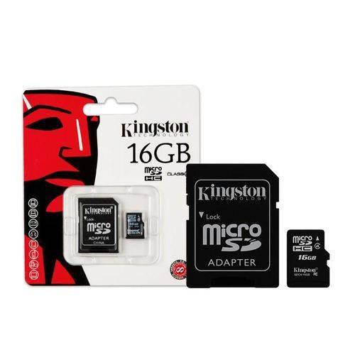 Cartão Memoria Micro Sd Kingston 16gb 1 Class 4