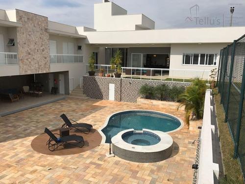 Casa Térrea Alto Padrão À Venda, Condomínio Ibiti Do Paço, Sorocaba. - Ca1012