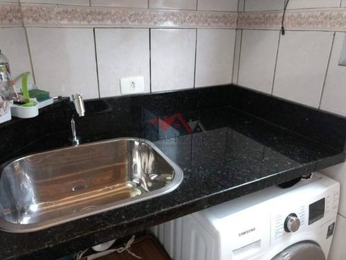 Imagem 1 de 11 de Apartamento Em Condomínio Padrão Para Venda No Bairro Vila Carmosina, 55,6m M - 67