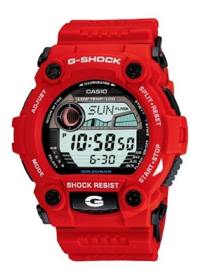 Relogio G-shock Masculino Digital G-7900a-4dr Vermelho