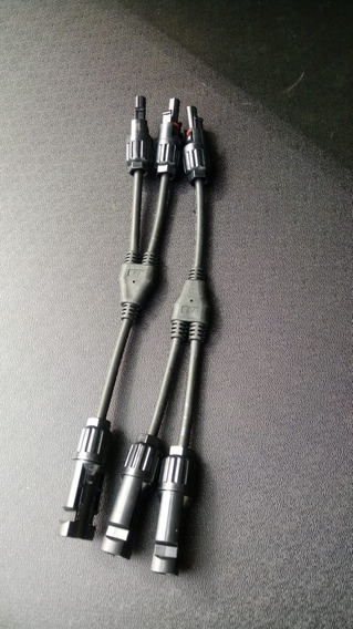 Conector Mc4 Em Y Par