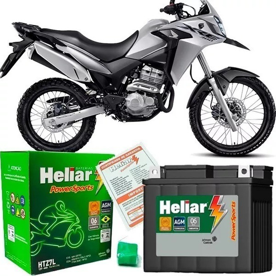 Bateria P/ Moto Xre 300 2010/2018 Frete Grátis Htz7l Heliar