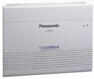Conmutador Panasonic Kx-tes824 8 Líneas Y 24 Extensiones
