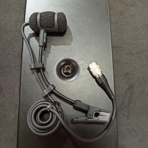 Micrófon Audio Technica Atm350 Cw Instrumento Para Base Ina