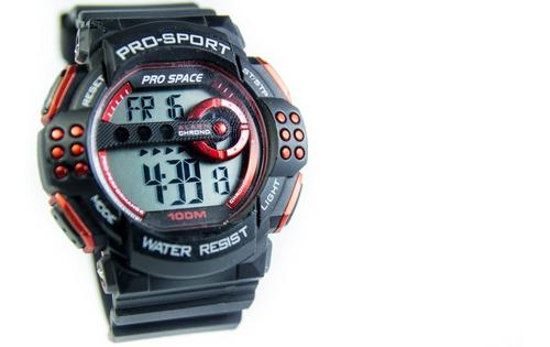 Reloj Hombre Digital Prospace Racer 105 Sumergible Deporte