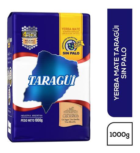 Imagen 1 de 1 de Yerba Mate Taragüi Sin Palo 4flex 1 Kg