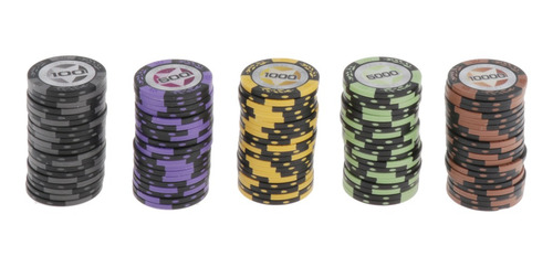 Fichas De Póker Del Casino 100 500 1000 5000 10000
