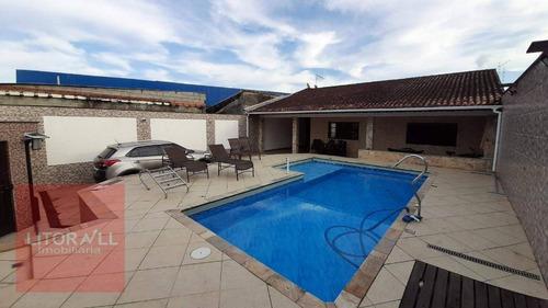 Imagem 1 de 30 de Casa Com 2 Dormitórios À Venda, 161 M² Por R$ 470.000,00 - Jardim Fazendinha - Itanhaém/sp - Ca1790