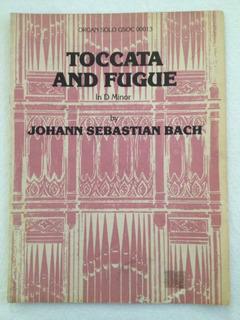 Partitura J.s. Bach Toccata Y Fuga Órgano Barroco