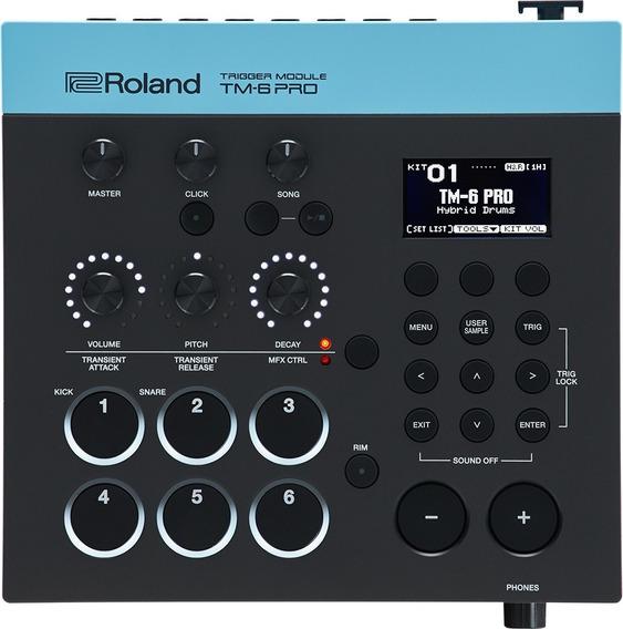 Roland Tm-6 Pro Módulo De Sonidos Electrónicos Para Batería