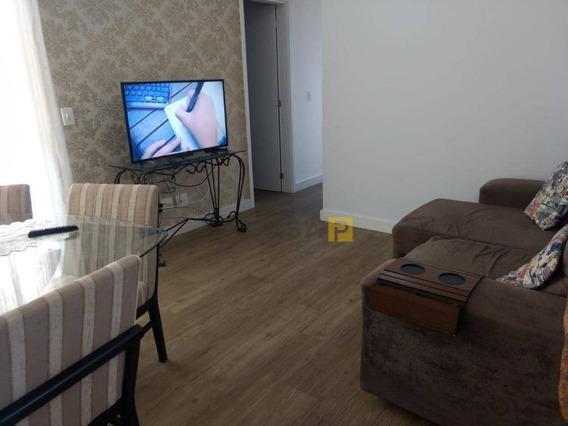 Apartamento Com 3 Dormitórios À Venda, 70 M² Por R$ 430.000 - Santa Cruz - Americana/sp - Ap0607