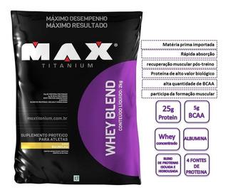 Whey Blend Max 2kg - Frete Grátis*