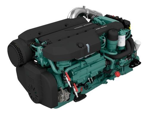 Motor Diesel Volvo Penta D8 600hp Reversor P/ Barco Lancha
