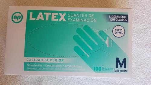 Guantes De Latex Descartables Talle M