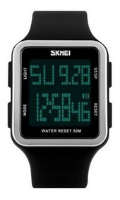 Relógio Masculino Skmei Digital 1139 Preto Oferta