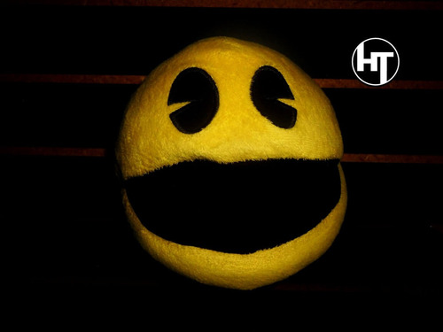 Imagen 1 de 10 de Namco, Pacman, Peluche, Original Toy Factory, 8 Pulgadas
