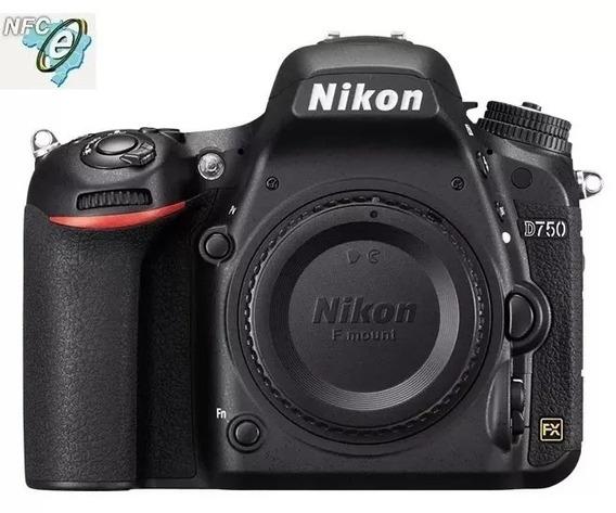 Nikon D750 Corpo + 64gb + Bolsa C Nota Fiscal