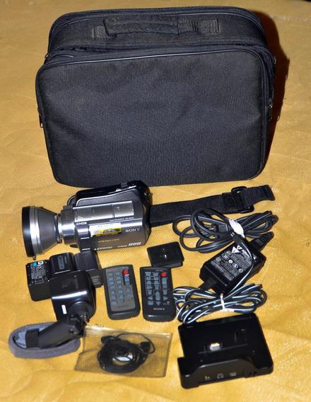 Handycam Sony Dcr-sr220 Com Acessórios Conservada