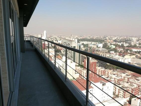 Rente Exclusivo Departamento En City Tower Grand Col Xoco
