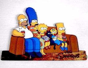 Lindo Porta Chaves Mdf Personalizado Familia Simpsons