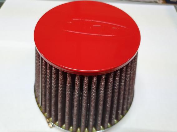 Filtro Aire Alto Flujo Apc Intimidator 5 Pul Entrada Rojo