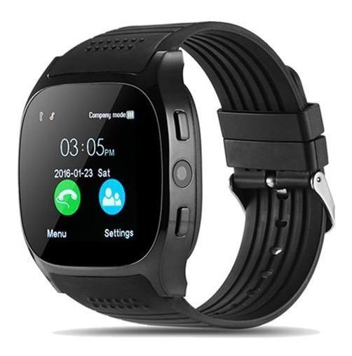Smart Watch T8 Reloj Inteligente Celular Sim Cámara Sd Bt