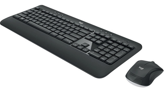 Teclado E Mouse Sem Fio Logitech Advanced Mk540 +nota Fiscal