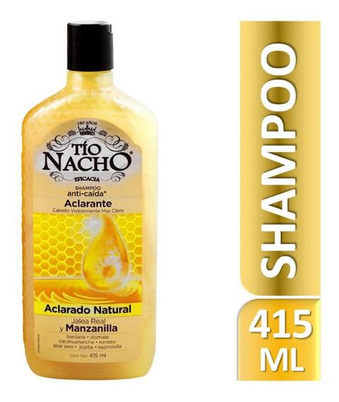 Shampoo Tío Nacho Anti-caída Aclarante 415 Ml Genomma Lab