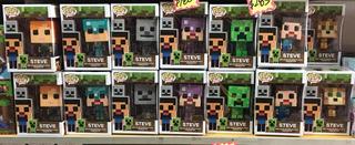 Funko Pop Steve Minecraft Por Unidad Baratos Bootleg