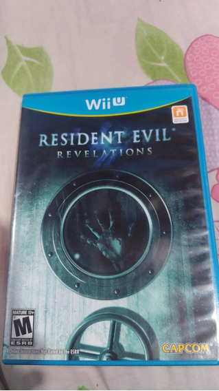 Resident Evil Revelations Nintendo Wii U. R$ 120