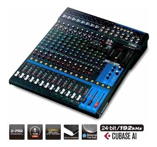 Mixer Yamaha Mg16xut De 16 Canais