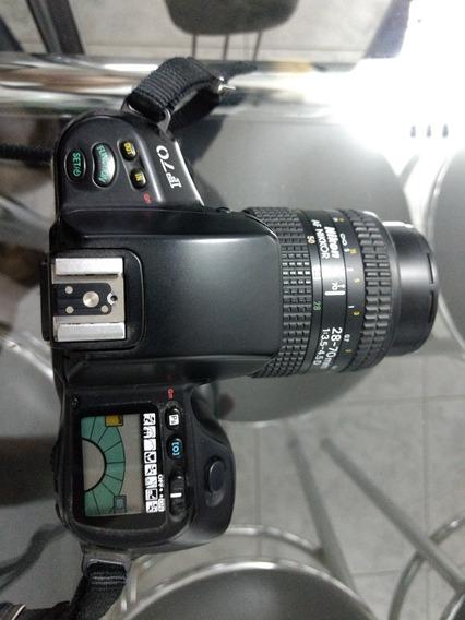 Câmera Analógica Nikon F70 Mais 1 Lente 28-70mm