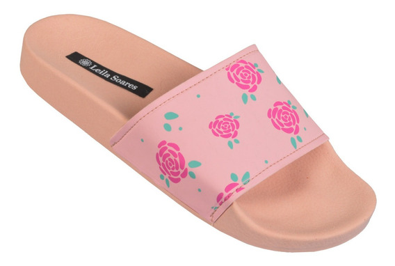 Chinelo Mlsa Beach Slide Feminino Mickey And Friends Moda