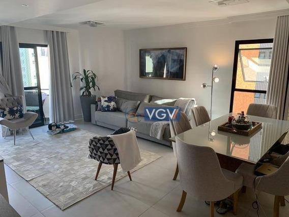Apartamento Porteira Fechada Com 2 Dormitórios À Venda, 100 M² Por R$ 2.000.000 - São Paulo - Ap3935