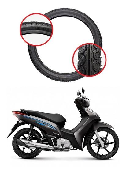 Par Pneu Traseiro 80/100x14 Amazon Fast Honda Biz 125
