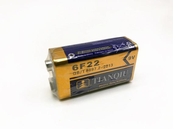 Pila Bateria De Carbon 9v Cuadrada 100% Nuevo Somos Tienda