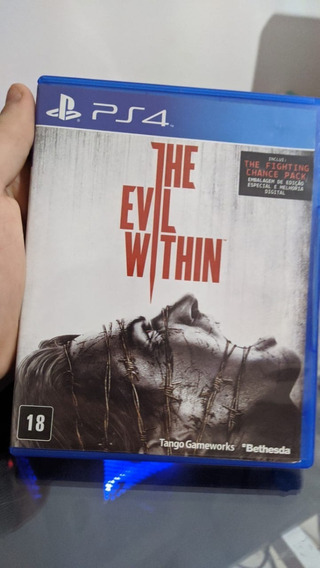 Jogo Ps4 The Evil Within The Fighting Chance Pack