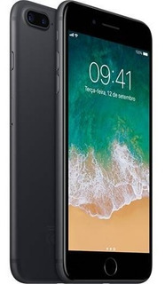iPhone 7 Plus 32gb - Preto Matte - Novo Lacrado