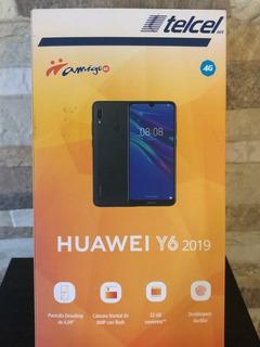 Celular Huawei Y6 2019 32 Gb Negro Totalmente Nuevo
