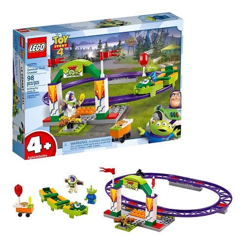 Lego Toy Story 4 10771 Buzz Lightyear Montaña Rusa 98 Pzs