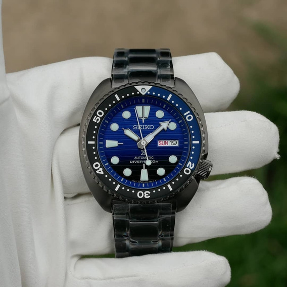 Relógio Seiko Prospex Save The Ocean Black Edition Srpd11k1