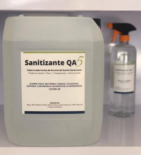 Imagen 1 de 1 de Sanitizante Qa5 1.2% 20 Litros
