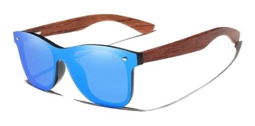 Gafas Polarizadas Madera Bubinga Wood Kingseven Originales