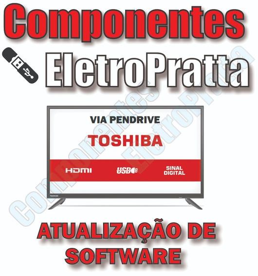 Atualização De Software Tv Toshiba Sti Dl3245i - Dl3245i(a)