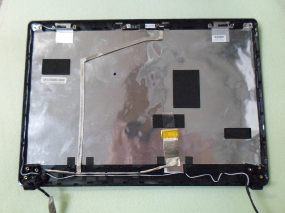Carcaça De Tela Notebook Lg S460 Com Moldura Cabo Flat