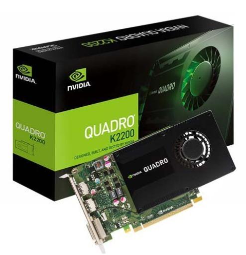 Tarjeta De Video Nvidia Pny Quadro K2200 4gb